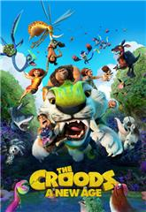 The Croods: A New Age (2020) bluray Poster