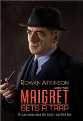 Maigret Sets a Trap (2016) bluray Poster