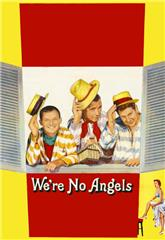 We're No Angels (1955) bluray Poster