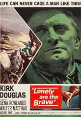 Lonely Are the Brave (1962) bluray Poster