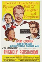 Friendly Persuasion (1956) Poster