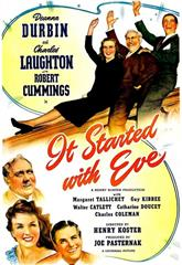 It Started with Eve (1941) bluray Poster