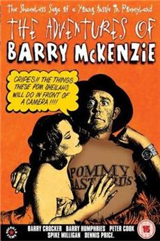 The Adventures of Barry McKenzie (1972) Poster