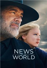 News of the World (2020) bluray Poster