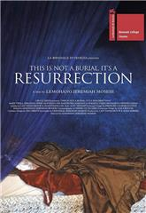 This Is Not a Burial, It's a Resurrection (2019) Poster
