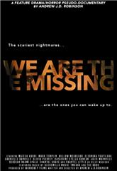 We Are the Missing (2020) Poster