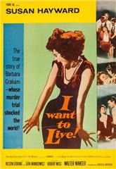 I Want to Live! (1958) bluray Poster