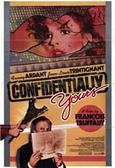 Confidentially Yours (1983) Poster