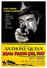 Man from Del Rio (1956) Poster