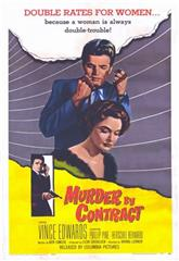 Murder by Contract (1958) Poster