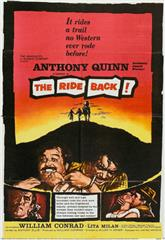 The Ride Back (1957) Poster