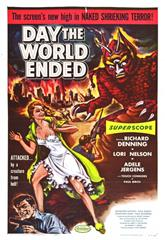 Day the World Ended (1955) 1080p poster