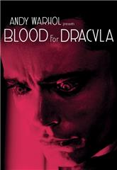 Blood for Dracula (1974) bluray poster