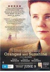 Oranges and Sunshine (2010) bluray poster