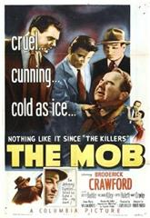 The Mob (1951) poster