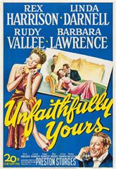 Unfaithfully Yours (1948) poster
