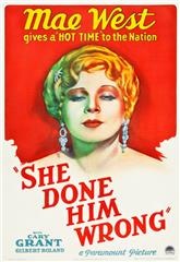 She Done Him Wrong (1933) 1080p poster