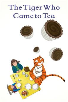 The Tiger Who Came to Tea (2019) 1080p Poster