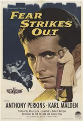 Fear Strikes Out (1957) poster
