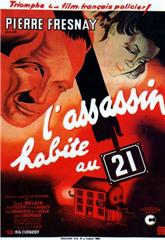 The Murderer Lives at Number 21 (1942) 1080p poster