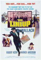 The Lineup (1958) bluray poster