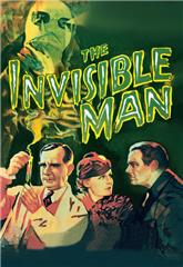 The Invisible Man (1933) bluray Poster