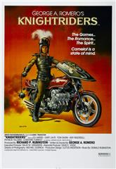 Knightriders (1981) bluray Poster