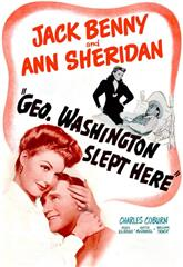 George Washington Slept Here (1942) Poster