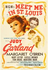 Meet Me in St. Louis (1944) bluray Poster