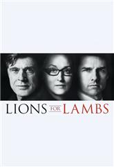 Lions for Lambs (2007) bluray Poster