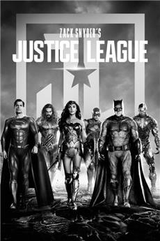 Zack Snyder's Justice League (2021) 4K Poster