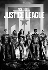 Zack Snyder's Justice League (2021) bluray Poster