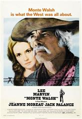 Monte Walsh (1970) bluray Poster