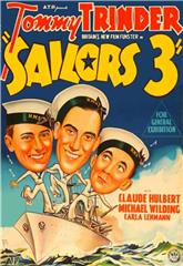 Sailors Three (1940) Poster