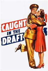 Caught in the Draft (1941) 1080p bluray Poster