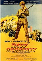 Davy Crockett: King of the Wild Frontier (1955) 1080p Poster