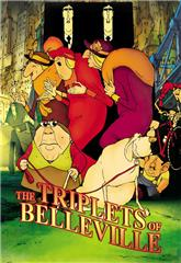 The Triplets of Belleville (2003) Poster