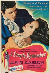 A Song to Remember (1945) 1080p web Poster