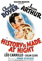 History Is Made at Night (1937) 1080p Poster