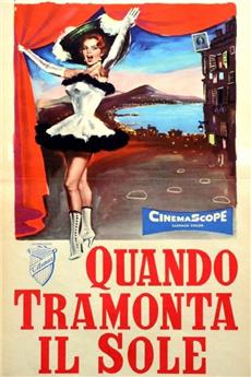 Sunset in Naples (1956) Poster