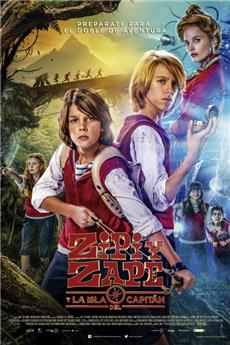 Zip & Zap and the Captain's Island (2016) 1080p Poster