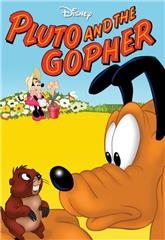 Pluto and the Gopher (1950) 1080p Poster