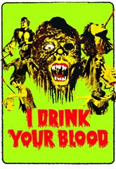 I Drink Your Blood (1970) bluray Poster