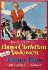 Hans Christian Andersen (1952) bluray Poster