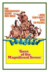 Guns of the Magnificent Seven (1969) bluray Poster