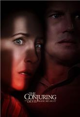 The Conjuring: The Devil Made Me Do It (2021) bluray Poster