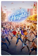 In the Heights (2021) bluray Poster