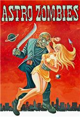 The Astro-Zombies (1968) bluray poster