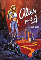 Alien from L.A. (1988) 1080p poster