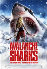 Avalanche Sharks (2014) poster